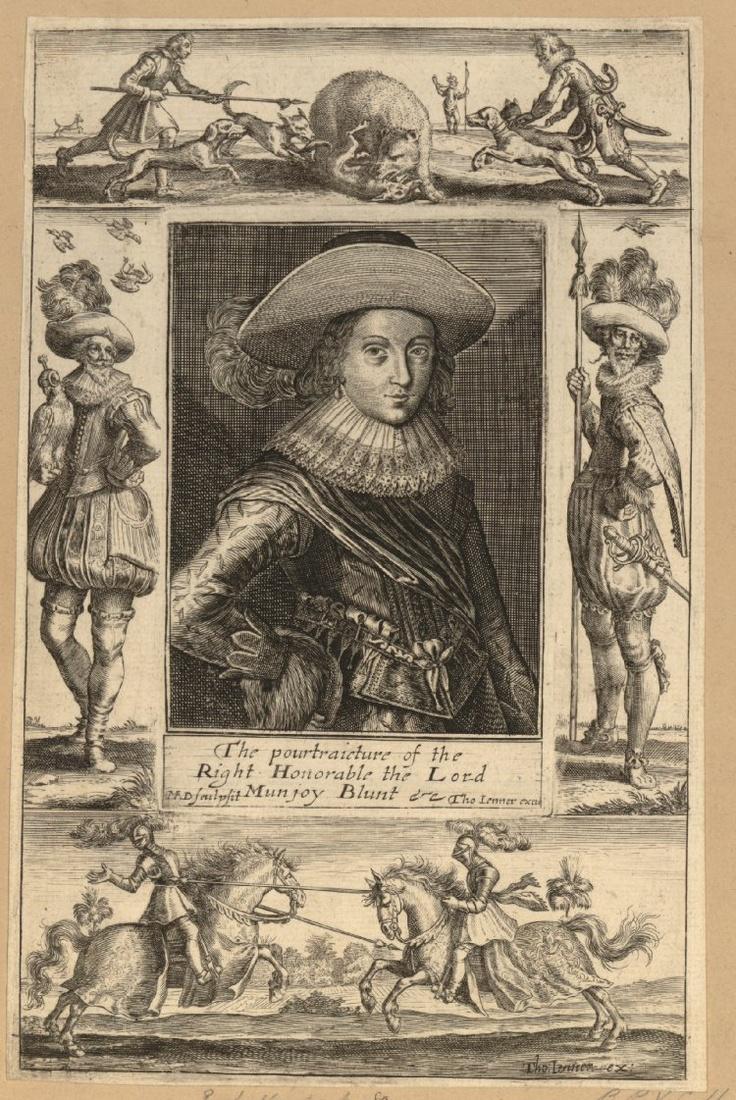 Mountjoy Blount, 1st Earl of Newport, c. 1630-1640.