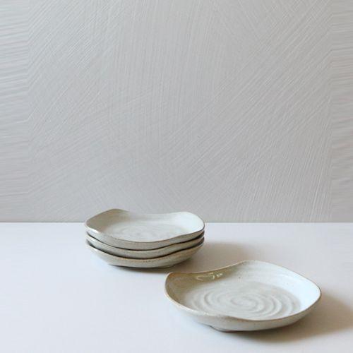 Casual line Oatmeal Rectanguler Plate 14, set of 4 / $54.00