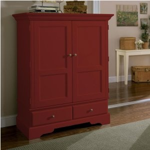 red computer armoire i have an old armoire i want to paint like this