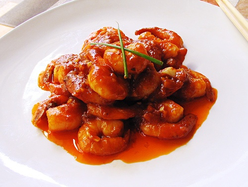 Imperial Shrimp A Quot Mandarin Quot Style Beijing Sichuan Dish Using Hot Chili Chili Bean Sauce