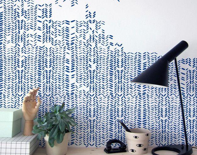 ber ideen zu wandschablonen auf pinterest marokkanische schablonen akzentwand und. Black Bedroom Furniture Sets. Home Design Ideas