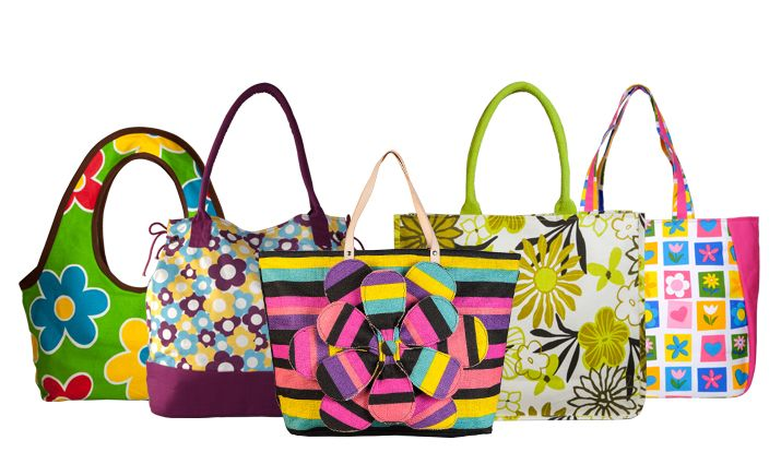 Colorful trendy bags for college-Going girls From YOLO
