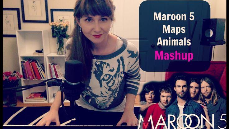 #15 Maroon5 - Maps / Animals Mashup by Kate Reenamuze