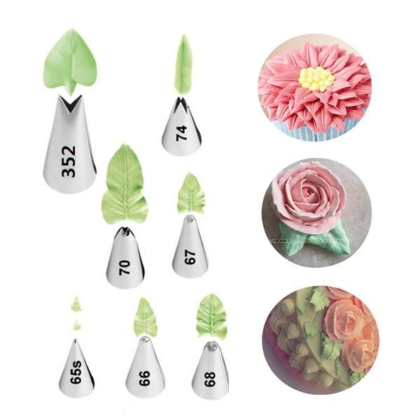 Stainless Steel Roses Pastry Tip Ateco # 59