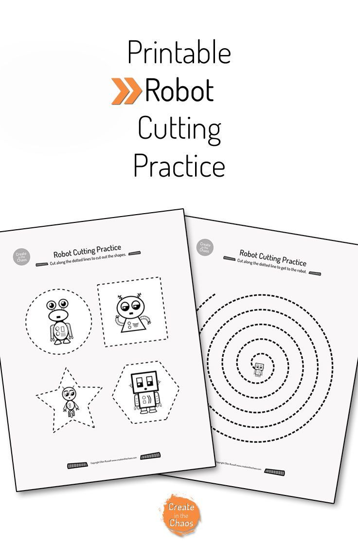 Worksheets Cutting Worksheets best 25 cutting practice sheets ideas on pinterest scissor printable robot practice