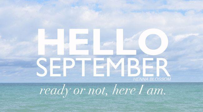 Non ci sono scuse.... BUON ANNO!!!! Lunedì---> 1 settembre #september #monday