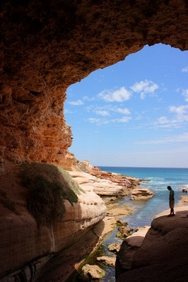 Cave Eyre Peninsula, Australia