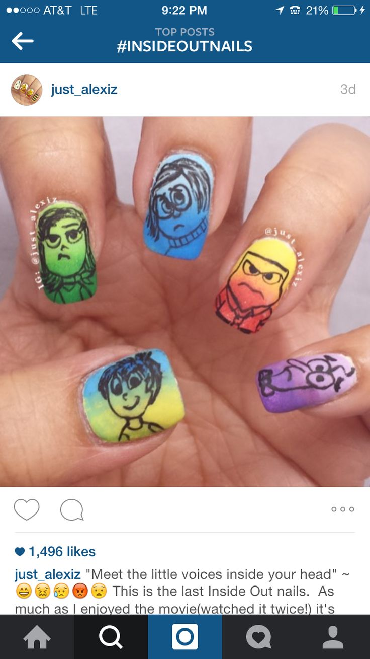 The 32 best Nails: Inside Out images on Pinterest   Art nails ...