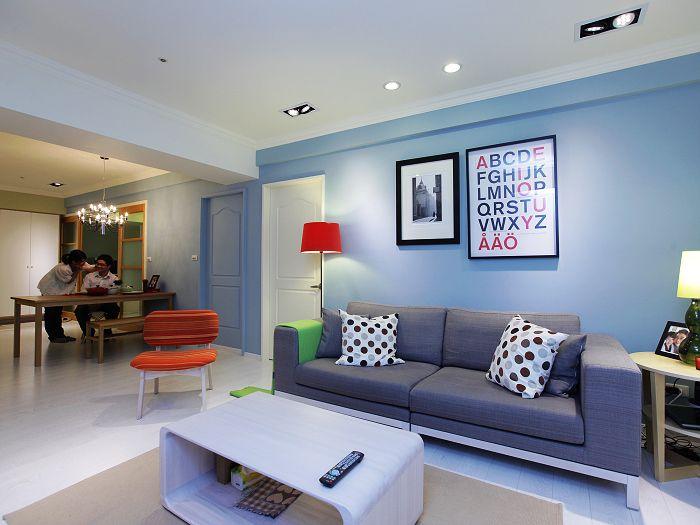 空間更繽紛更豐富 Interiordesign Decoration Colorful Sofa