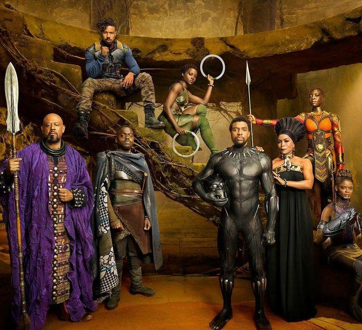 Black Panther cast #marvel
