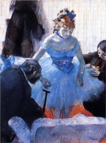 Dancer's Dressing Room - Edgar Degas