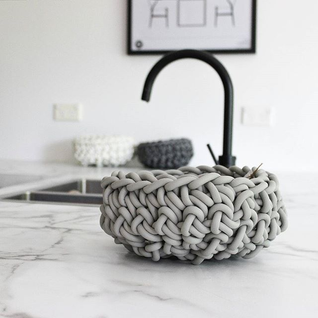 Our NEO bowl in pearl grey (small) These also come in grey and white. Perfect to use as a fruit bowl, key bowl for the entry or beside the bed for your jewellery at night. Available for purchase at Freshcut Interiors. #neobowl#instock #freshcutinteriors#myhome
