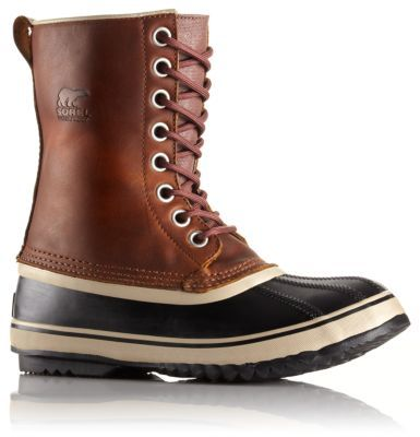 $150/Sorel/The supple oiled leather upper and felted wool inner liner make this seam-sealed, waterproof boot extra luxurious and perfect for keeping feet warm and dry in cold winter conditions.