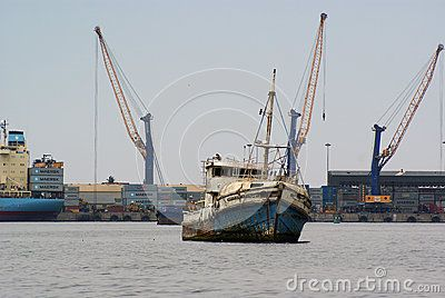Old Boat Walvisbay Harbour - Download From Over 41 Million High Quality Stock Photos, Images, Vectors. Sign up for FREE today. Image: 67693472