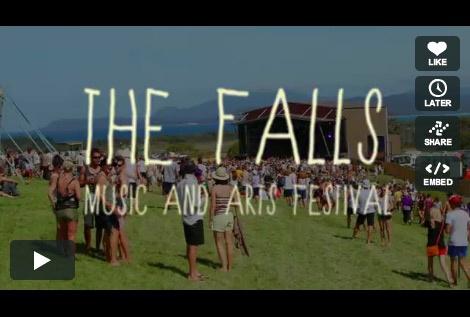 The Falls Music and Arts Festival | Lorne, Great Ocean Road, Victoria | Marion Bay, Tasmania | 28 December - 1 January