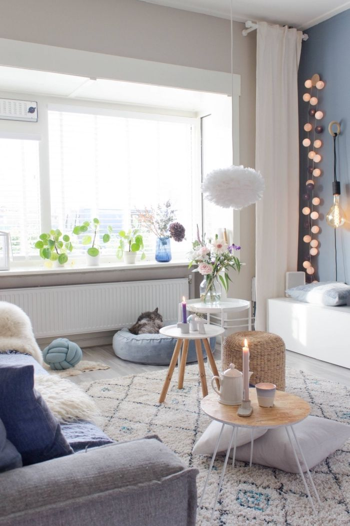 1001 Idees Deco Salon Cocooning De Style Hygge My