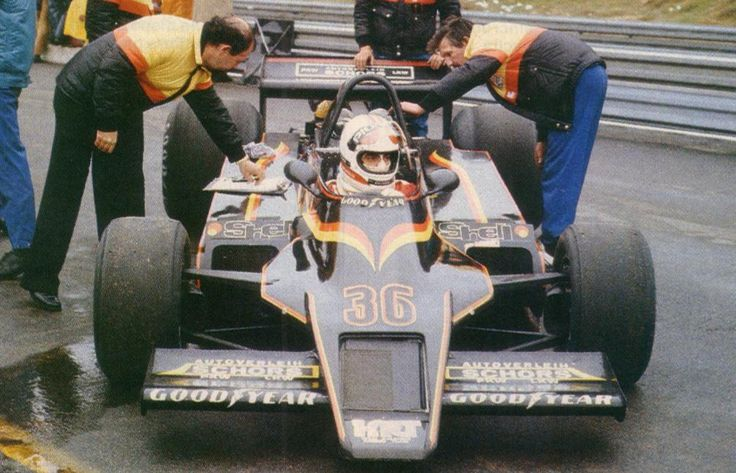1979 Zolder Kauhsen WK1 Gianfranco Brancatelli