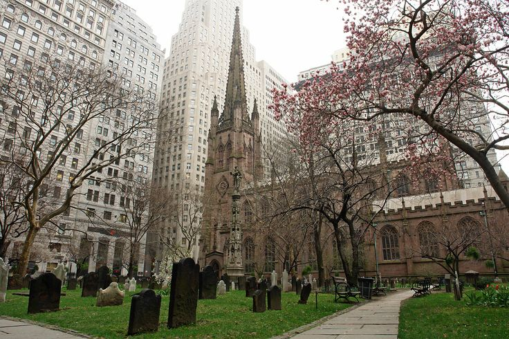 Trinity Church, New York City. My favorite chill out spot in New York.