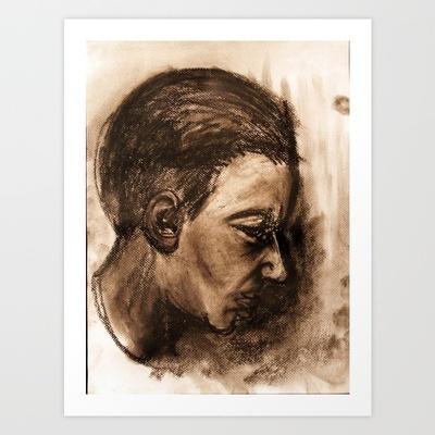 Scream #32 Art Print by Yousef Balat @ Hoop Snake Graphics LLC - $17.00: Scream Series, Scream 32, Hoop Snakes, Scream32, Graphics Llc, Art Prints, Illustration, Snakes Graphics, Products