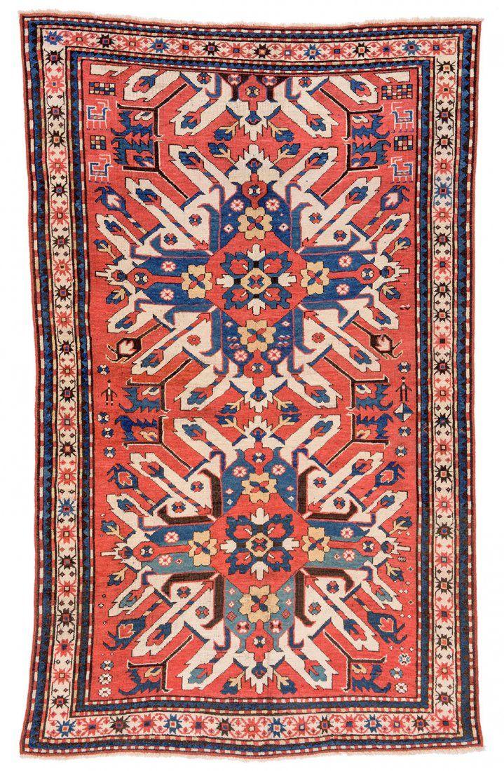 Eagle Kazak Caucasus ca. 1880 7ft. 6in. x 4ft. 6in. (con