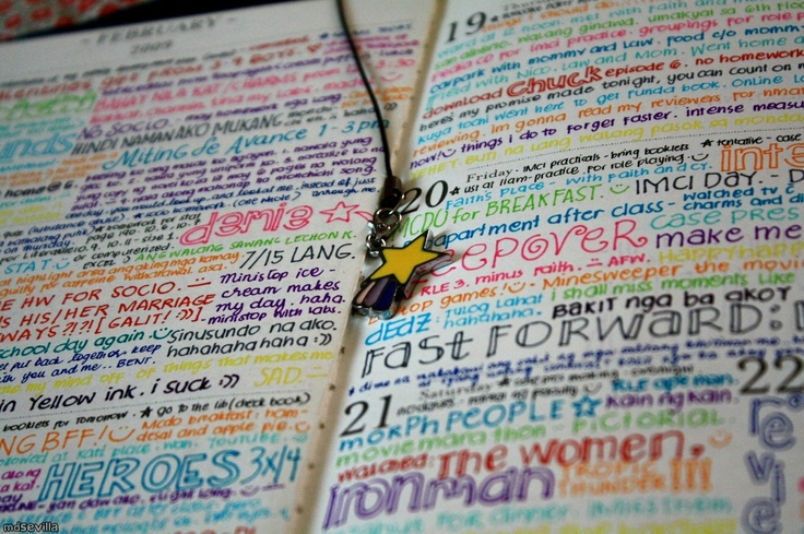 Awesome idea for journaling.