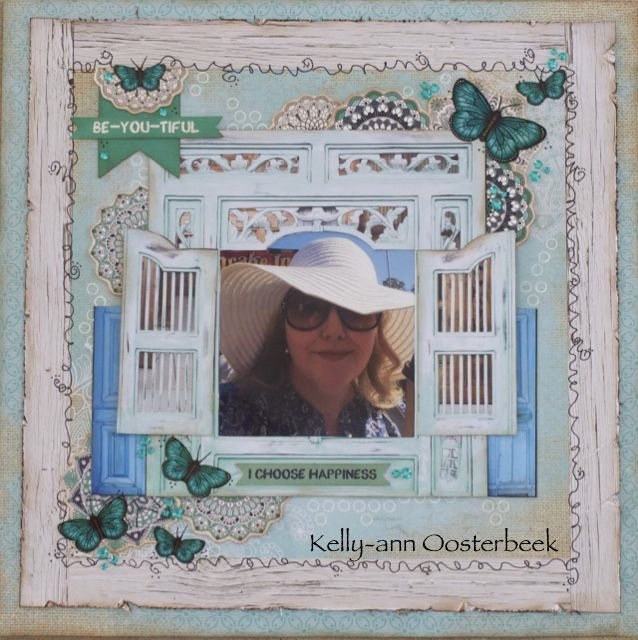 A Layout by Kelly-ann Oosterbeek made using the Ubud Dreams Collection from Kaisercraft. www.kellyanno.com
