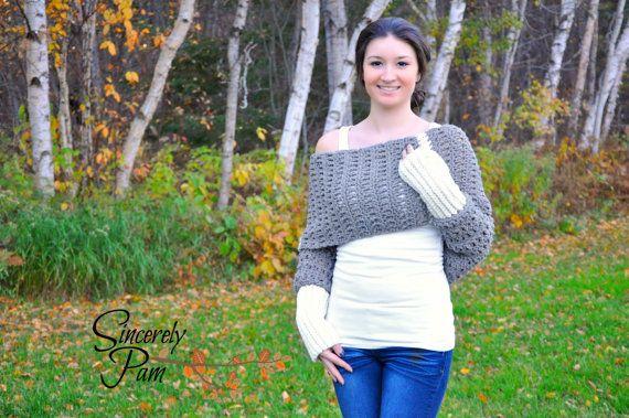 Hey, I found this really awesome Etsy listing at https://www.etsy.com/listing/256649373/warm-hug-shrug-crochet-pattern-pdf