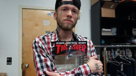 First Look: Jereme Rogers - http://DAILYSKATETUBE.COM/first-look-jereme-rogers/ - The fact that Jereme Rogers exists is proof of skateboarding's importance. Let's keep things weird, please. Keep up with Thrasher Magazine here:http://www.thrashermagazine.comhttp://www.facebook.com/thrashermagazinehttp://www.instagram.com/thrashermaghttp://www.twitter.com/thrashermag Source: h - first, jereme, look, rogers