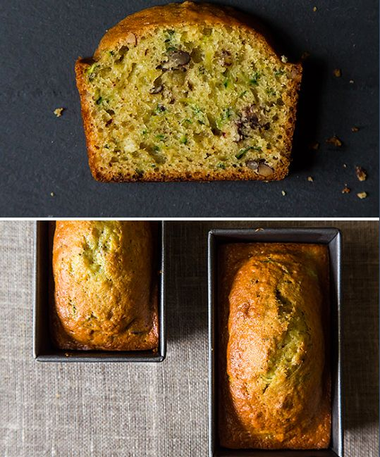 New favorite zucchini bread