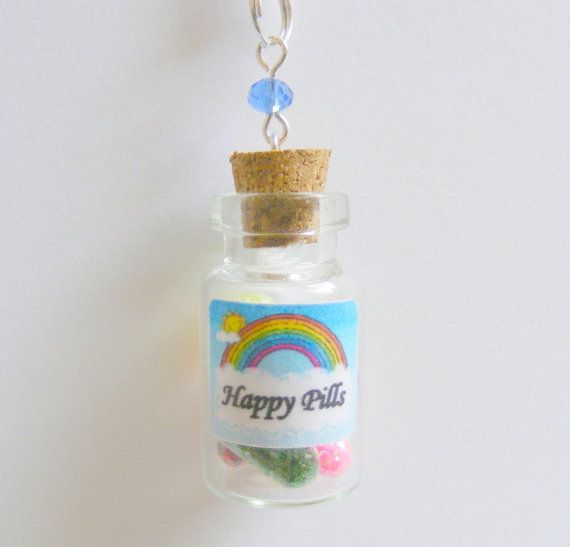 17 best ideas about happy pills on pinterest natural for Pill bottle jewelry