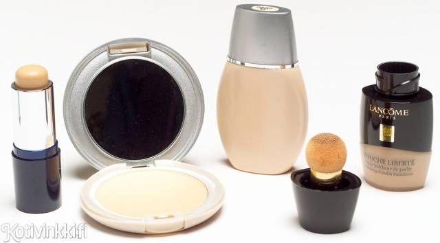 Tahranpoisto-opas: meikkivoide ja puuteri | Kotivinkki