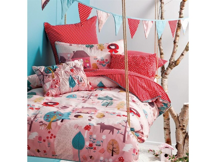 Little Red bedding by Hiccups