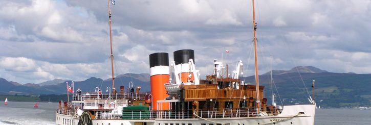 FYI: Scotland Sailings Aboard Paddle Steamer Waverley