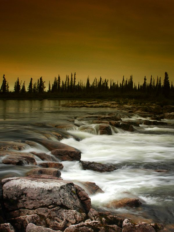 Yellowknife, Northwest Territories, Canada.I want to go see this place one day. www.photopix.co.nz