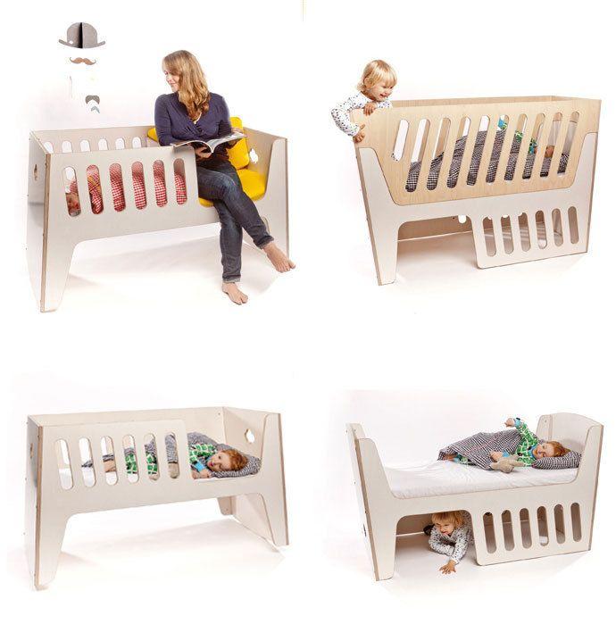 Wechselbares #Baby- und #Kinderbett Rocky