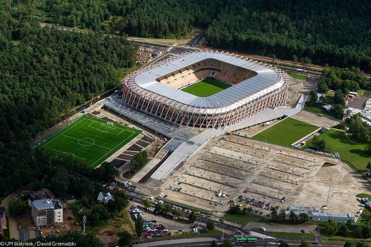 Stadion Miejski w Białymstoku #Białystok #Stadion #Jagiellonia #Bialystok /fot. Dawid Gromadzki