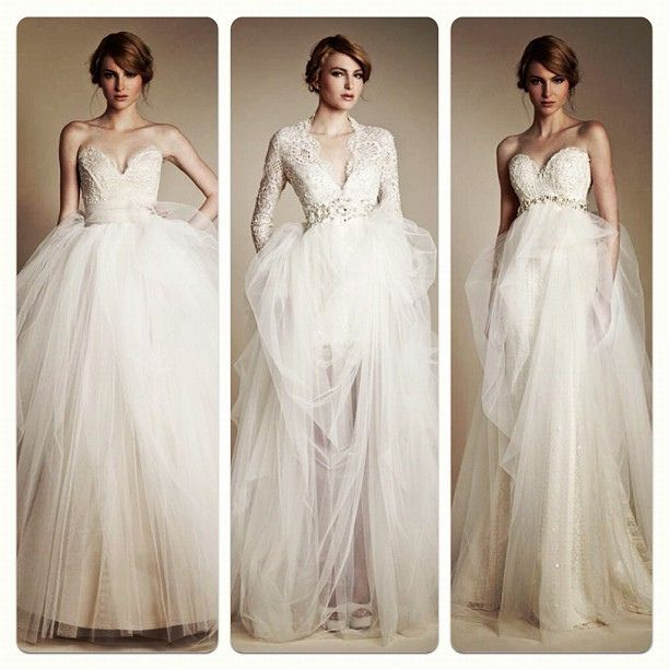 O.M.G.  Step aside Inbal Dror!! These are the ultimate princess gowns!