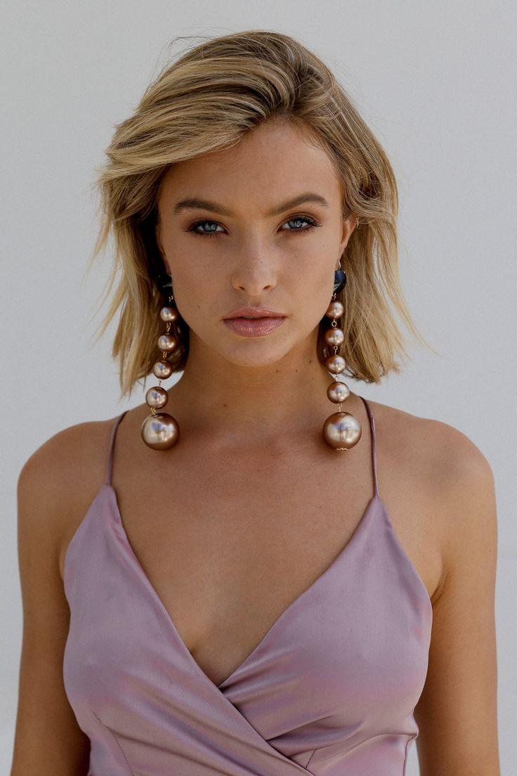 Lioness - Ball Drop Earrings (Bronze)