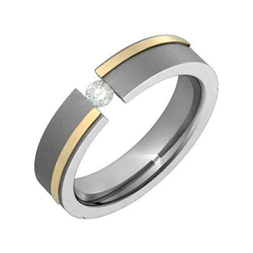 Ora Titanium Ring 14K Gold W Round Cut .10 CT Diamond Comfort Fit 5mm wide Engagement Ring Sz 9 Alain Raphael http://www.amazon.com/dp/B0007UBU6Q/ref=cm_sw_r_pi_dp_FS2cvb0A3DN3M