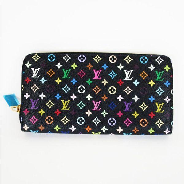 【中古】Louis Vuitton(ルイヴィトン) M60243 ジッピーウォレット モノグラム マルチカラー ラウンドファスナー 長財布/カラフルなモノグラム柄が目を惹く可愛いラウンドファスナー長財布。内側の鮮やかなピンクがとってもキュートです。/新品同様・極美品・美品の中古ブランドバッグを格安で提供いたします。/¥93,400