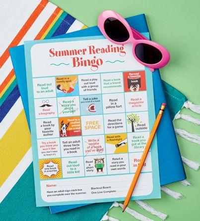 Printable: Book Bingo   Scholastic