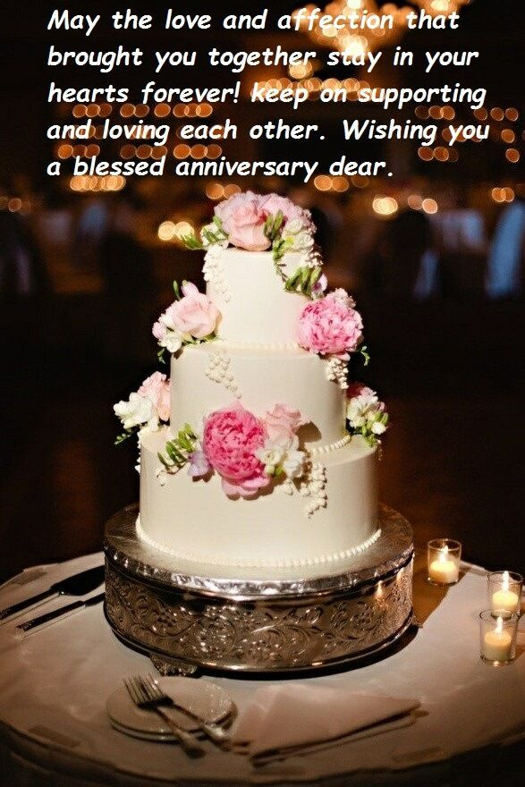 Anniversary Cake Wishes Images Bridal Happy Marriage Anniversary