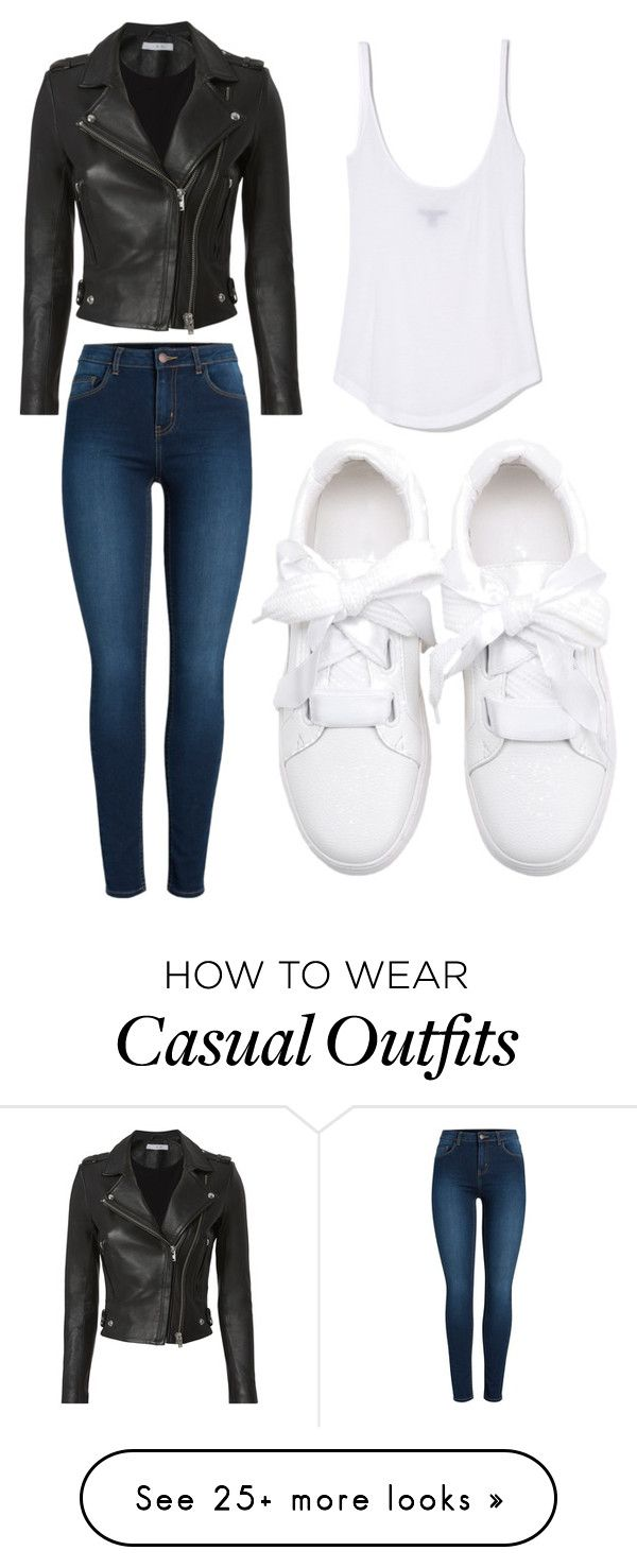 """""""Casual outfit"""" by melissagmont on Polyvore featuring IRO and Pieces"""