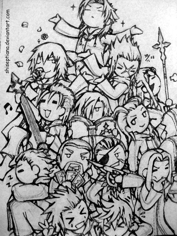 Image Organization XIII  Kingdom Hearts Wiki