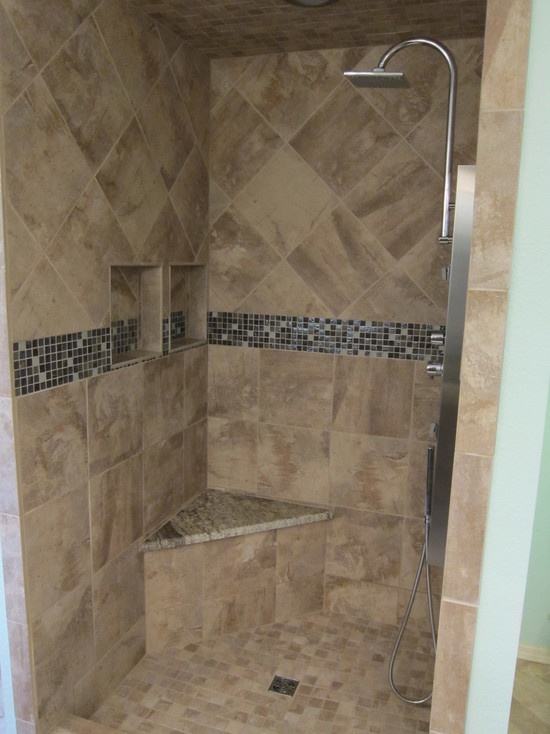 master bathroom shower remodel