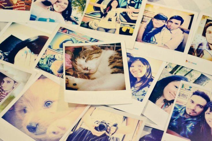 Aprenda a fazer fotos tipo polaroid de uma forma rápida, fácil e linda!