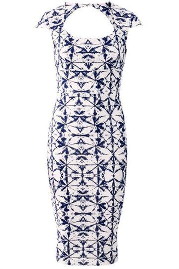 Kjole - Mønstret