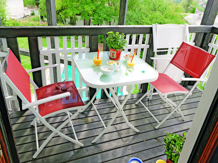 """Scaunul """"Colour"""" pentru terasă, grădină sau balcon"""