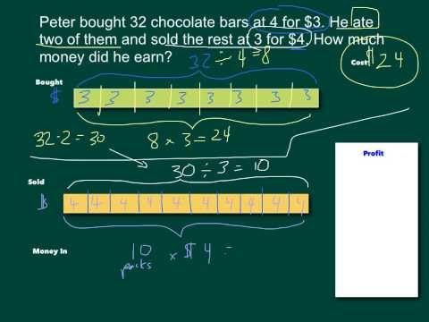 2-Step Word Problems and Bar Models (with videos, homework, worksheets & lesson plans)