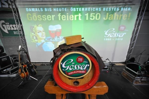 150 Jahre Gösser Bier - Tag der offenen Tür Brauerei Göss 29.06.2010